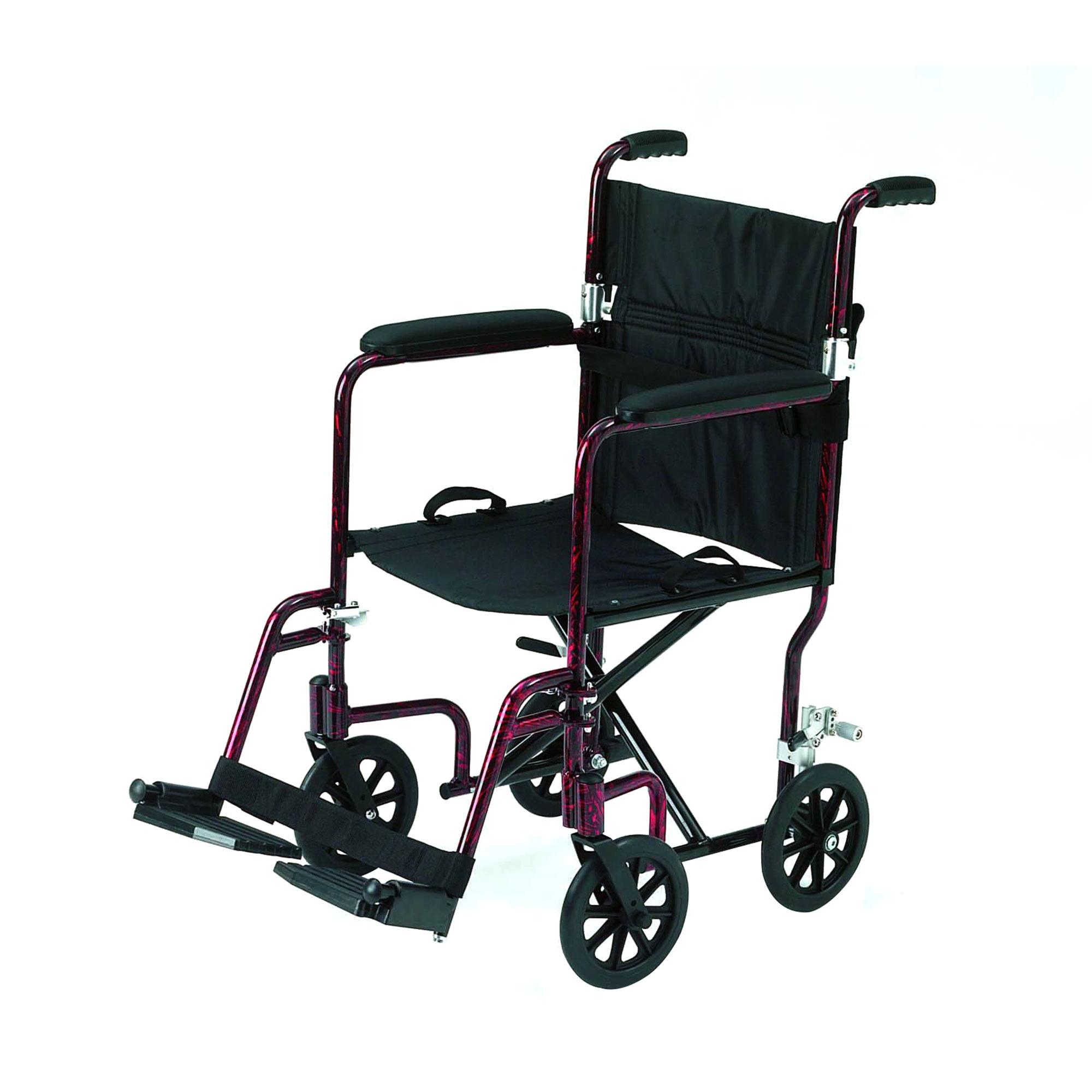 1247 Roma Foldaway Attendant Wheelchair Roma Medical