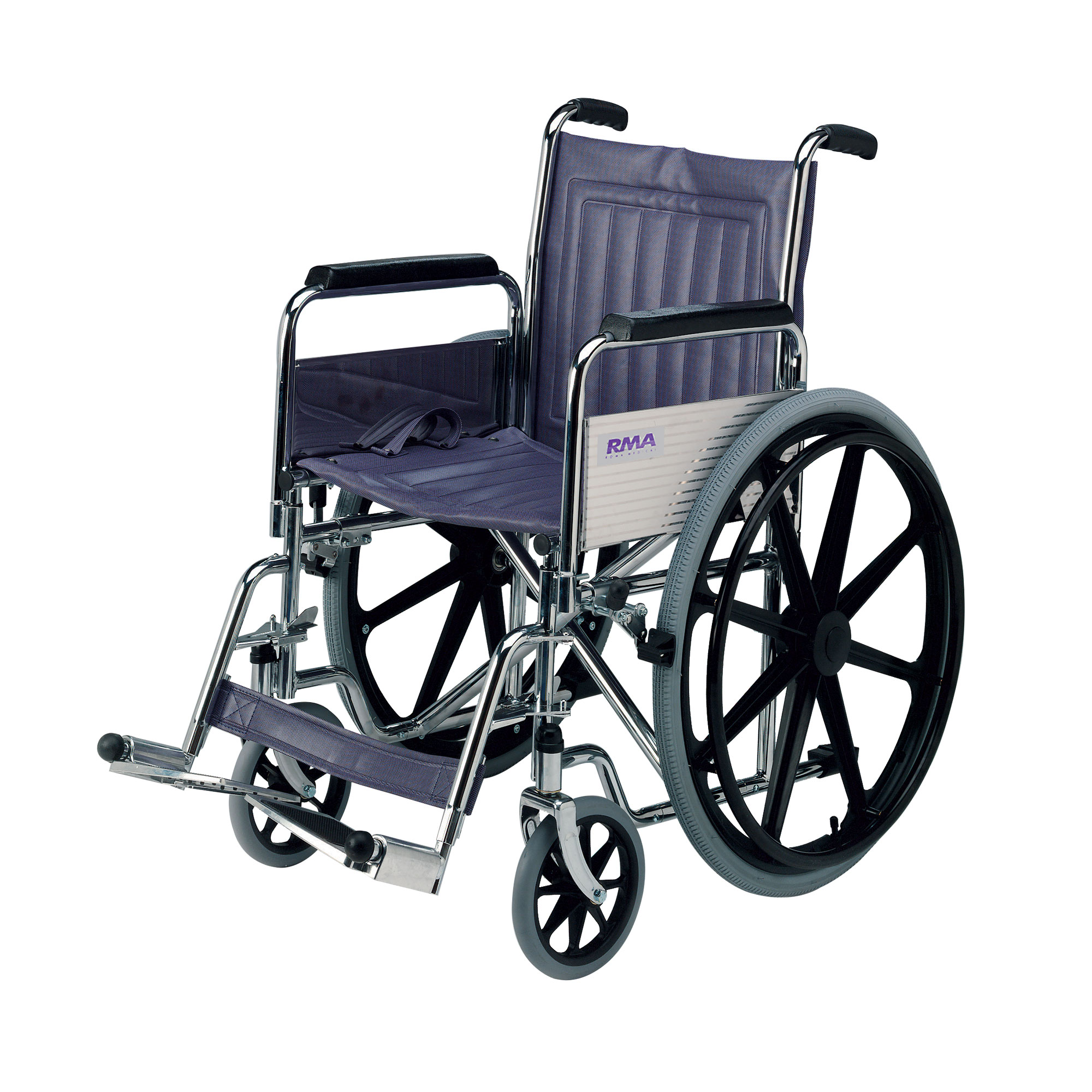 1410 Standard Self Propelled Wheelchair Roma Medical