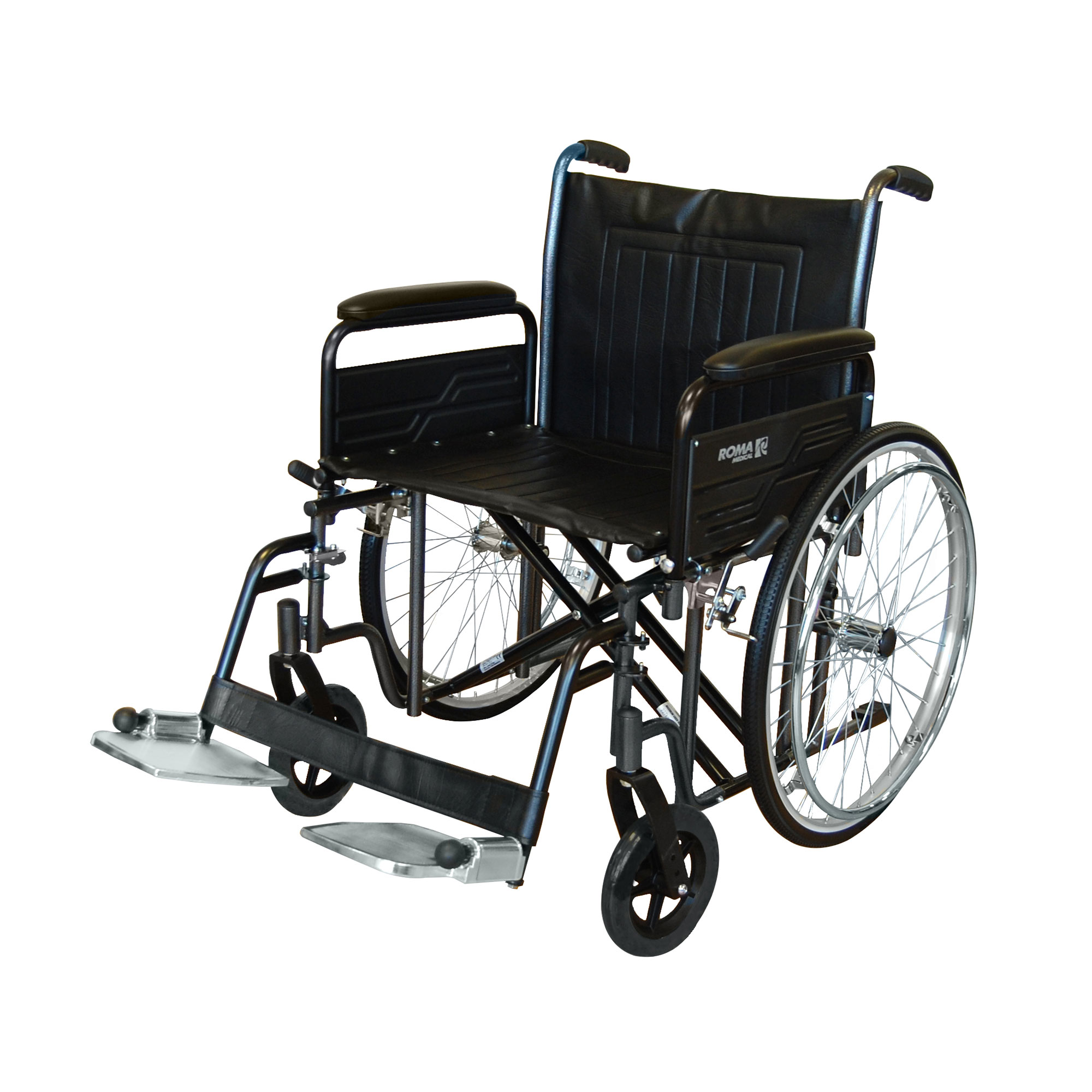 1473 Heavy Duty Self Propelled Wheelchair Roma Medical