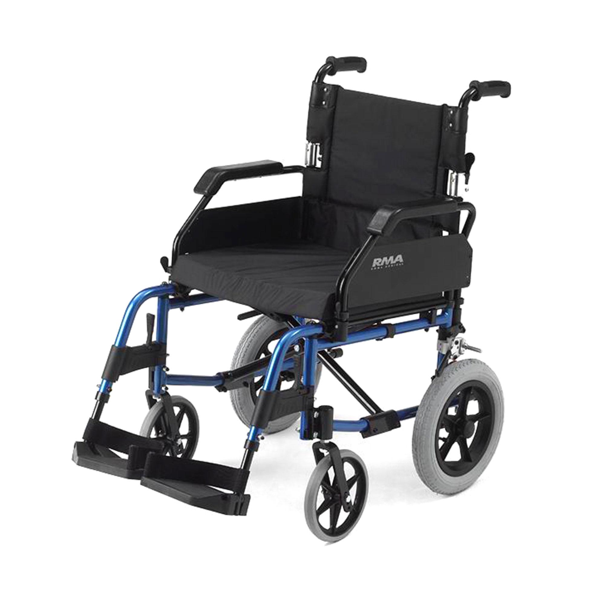 1530 Lightweight Car Transit Wheelchair Roma Medical