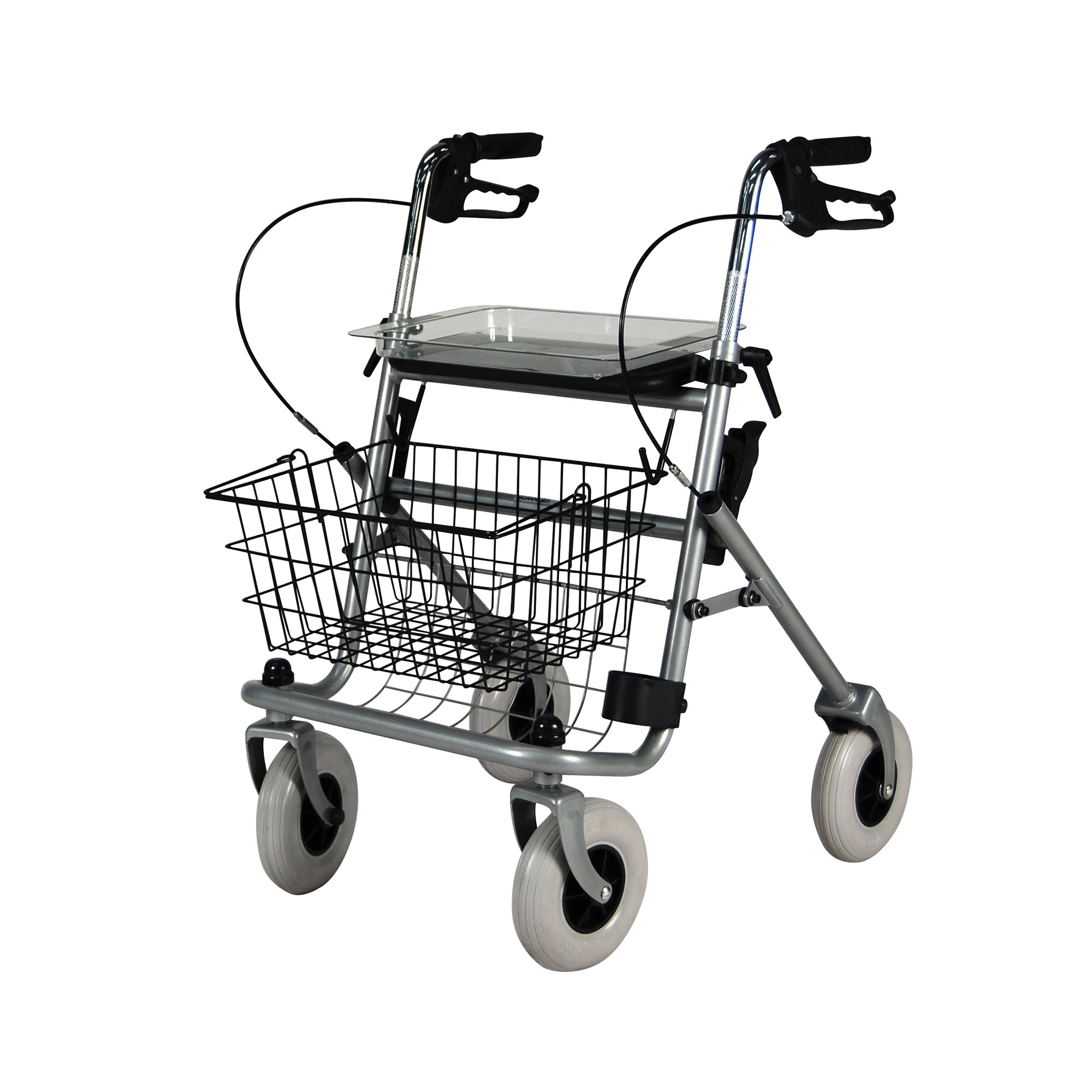 2410 Safety Walker 4 Wheel Rollator Roma Medical