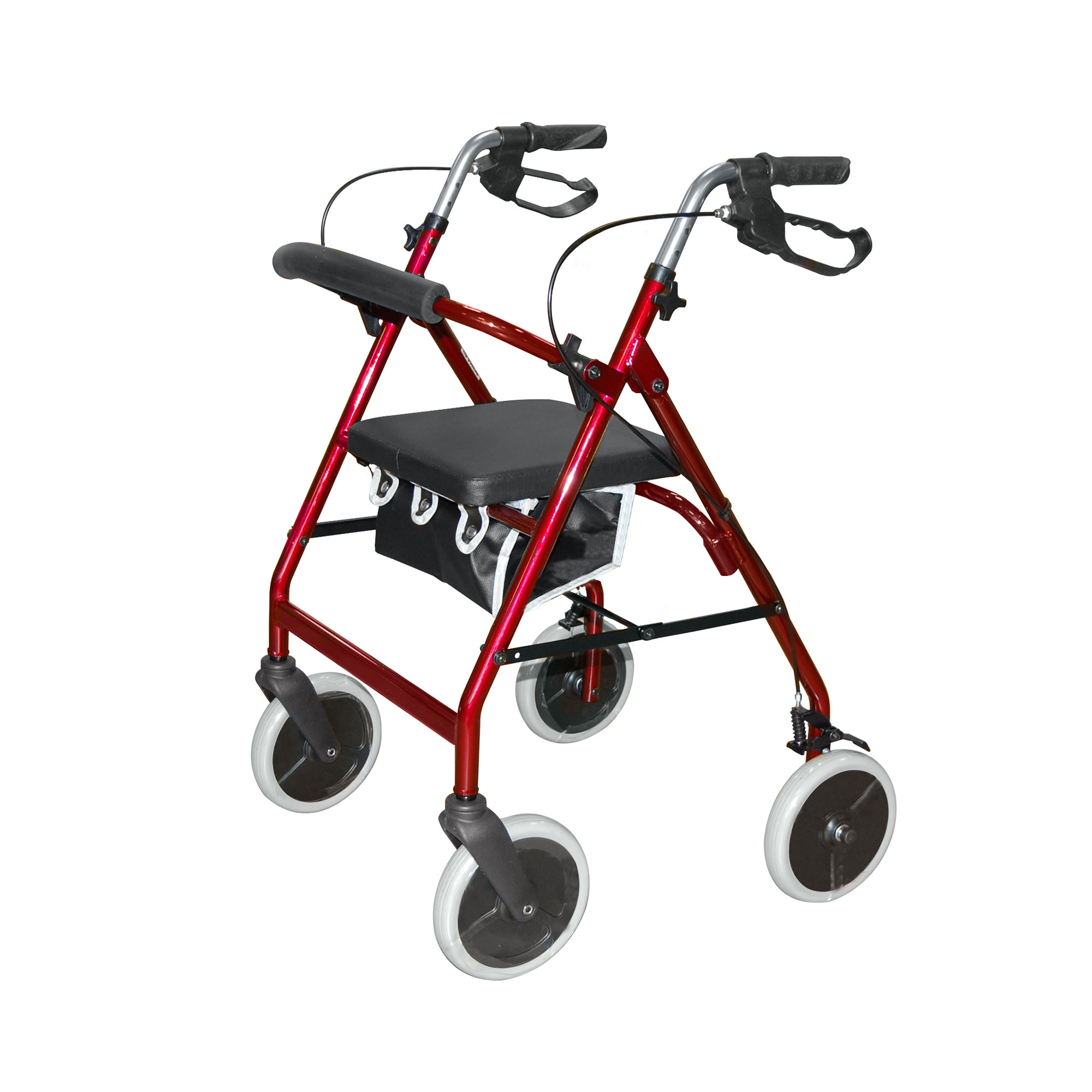 2463 Lightweight 4 Wheel Rollator Roma Medical