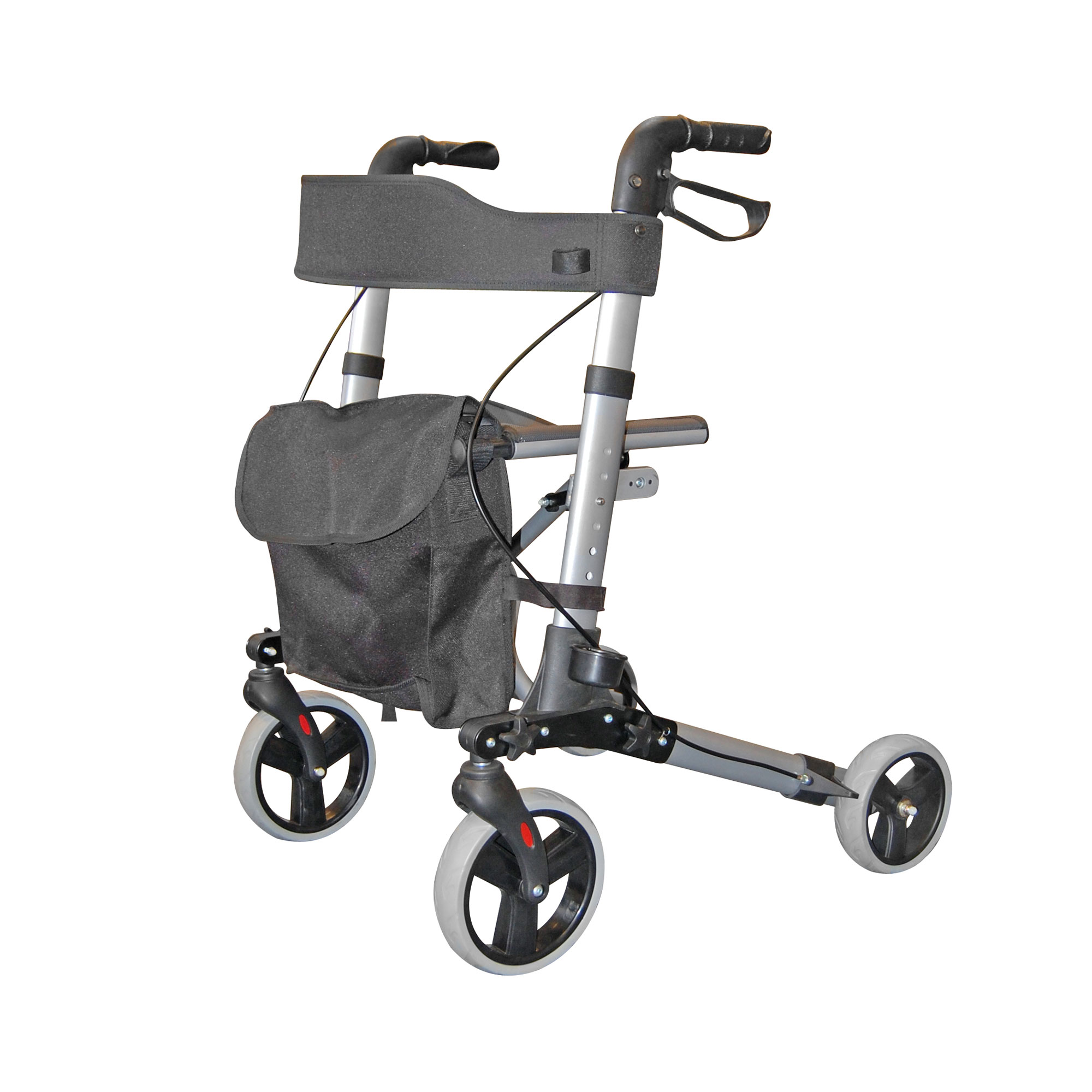 2465 City Walker Lightweight Folding Rollator Roma