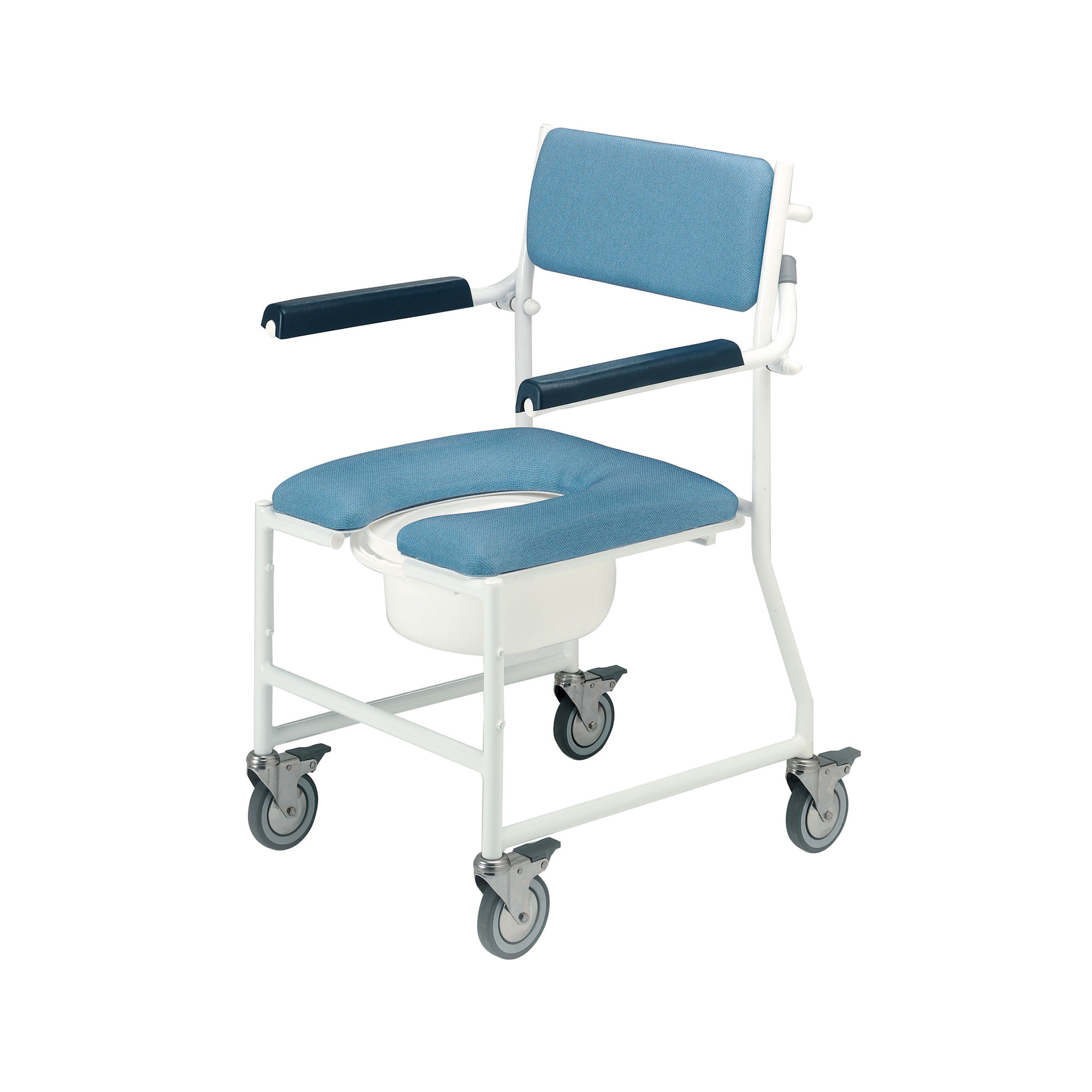 4141G 4BC Deluxe Dual Mobile Shower Chair Roma Medical