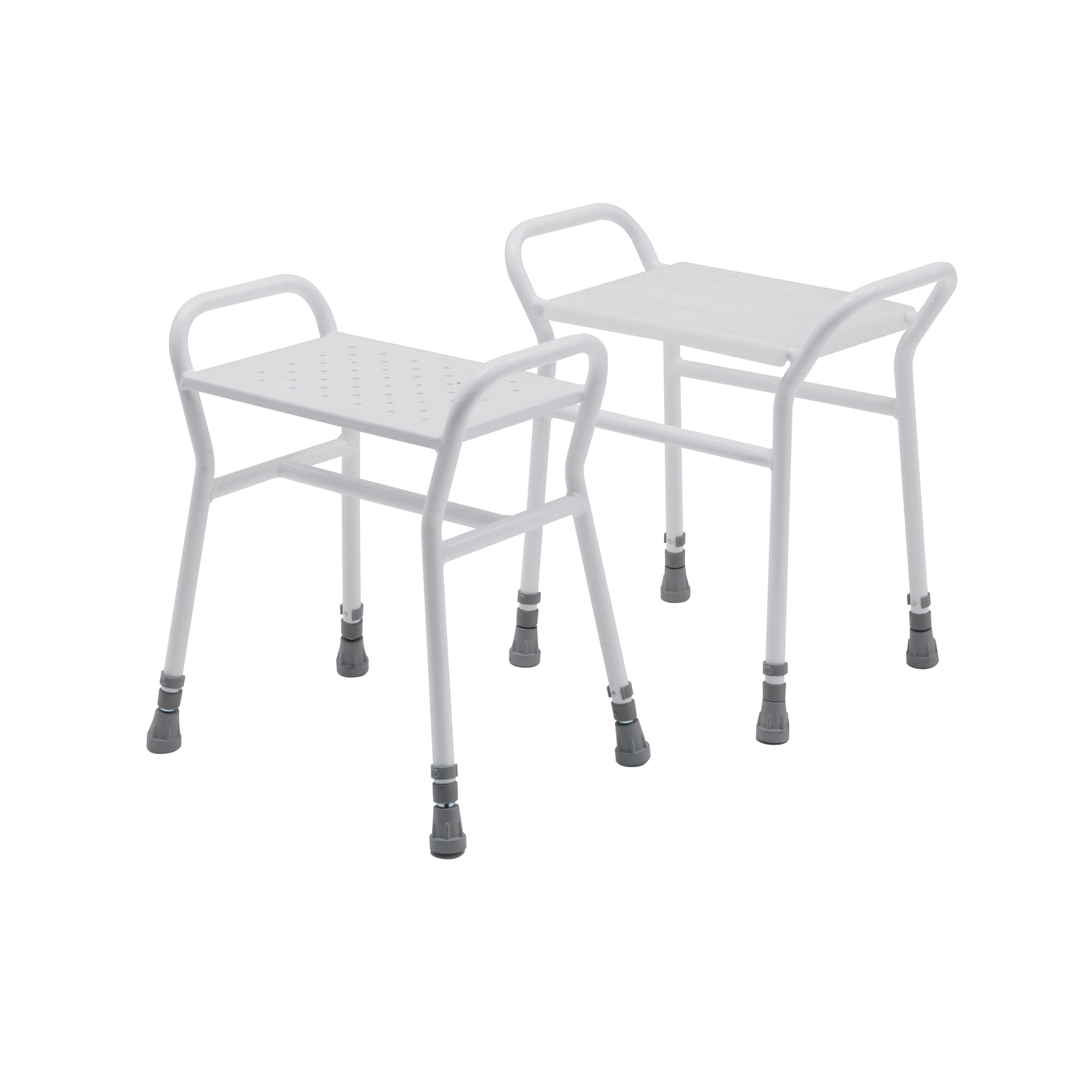 4216P Belmont Adjustable Shower Stool with a Plastic Clip
