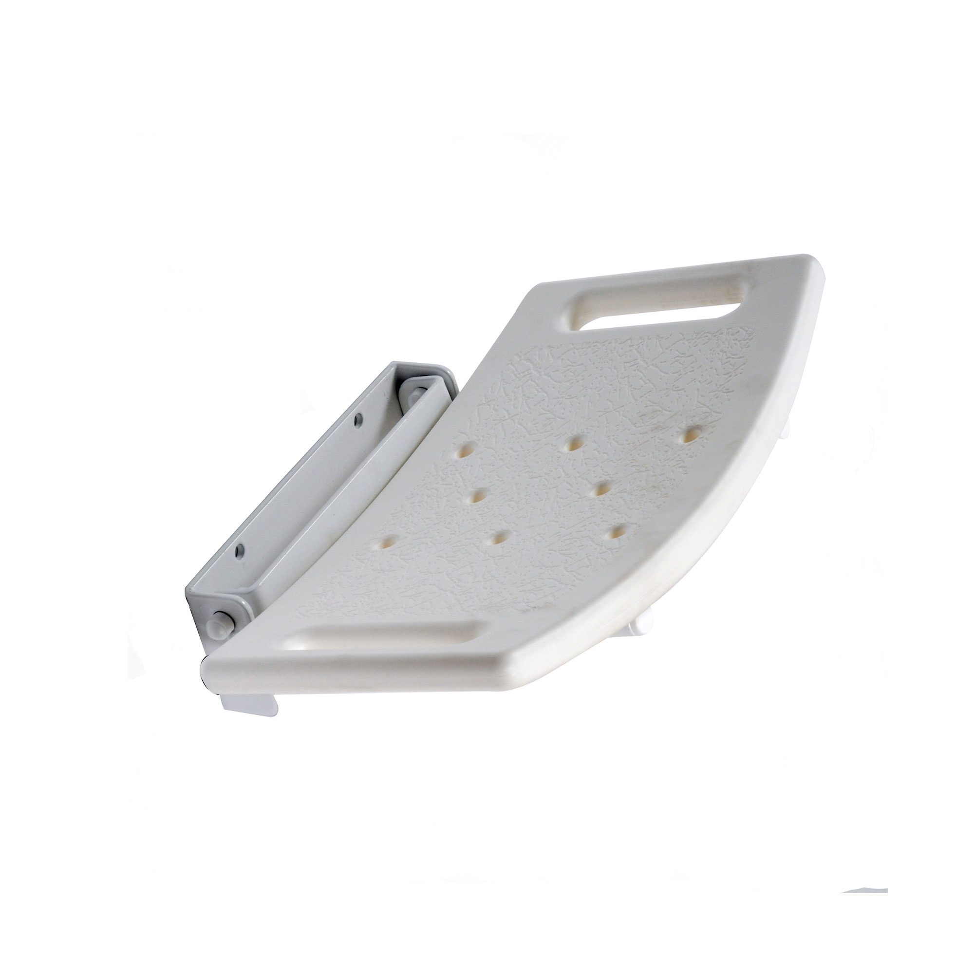 Leg Lift Seat ~ Lift up moulded shower seat without legs roma medical