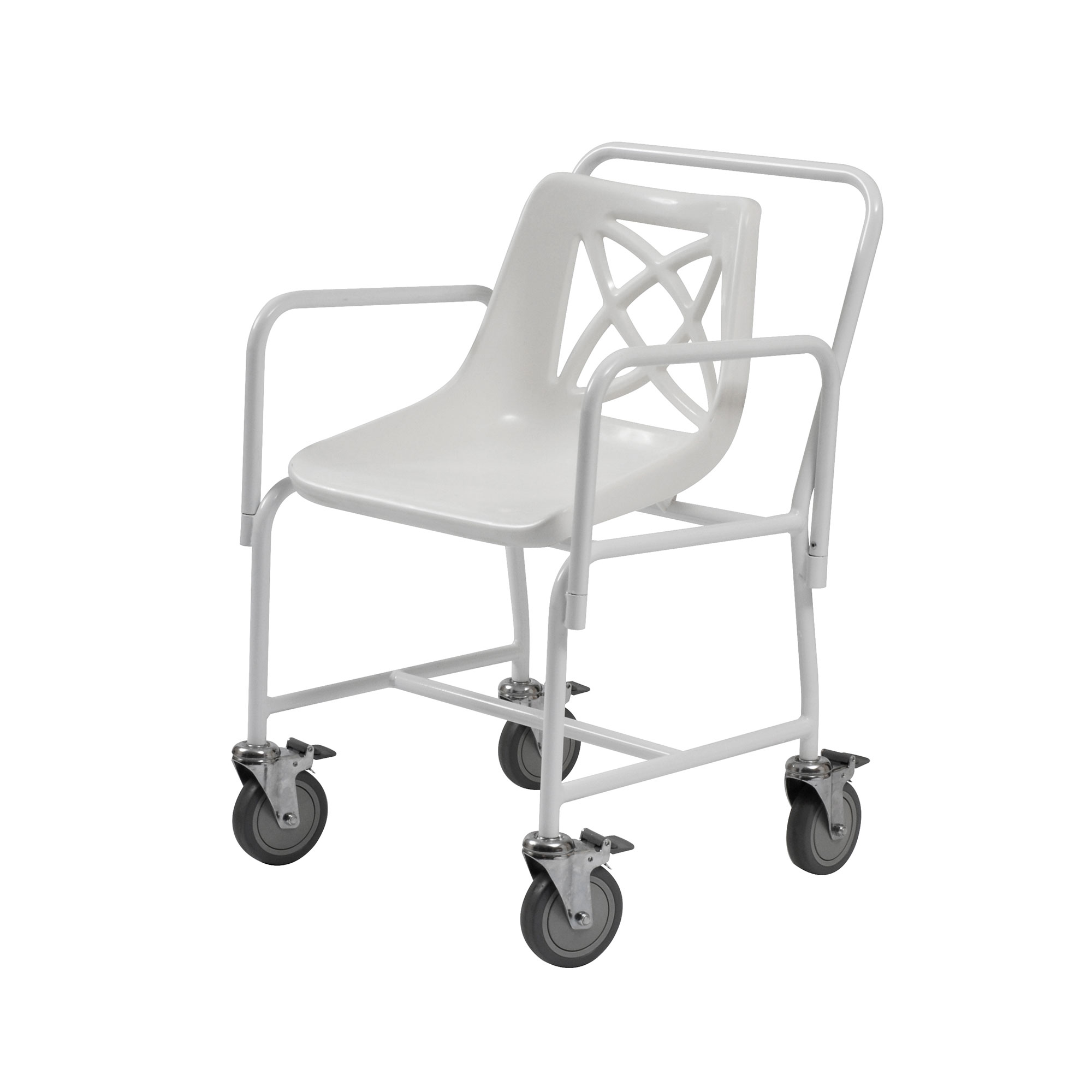 4551 4bc mobile shower chair with detachable arms roma medical