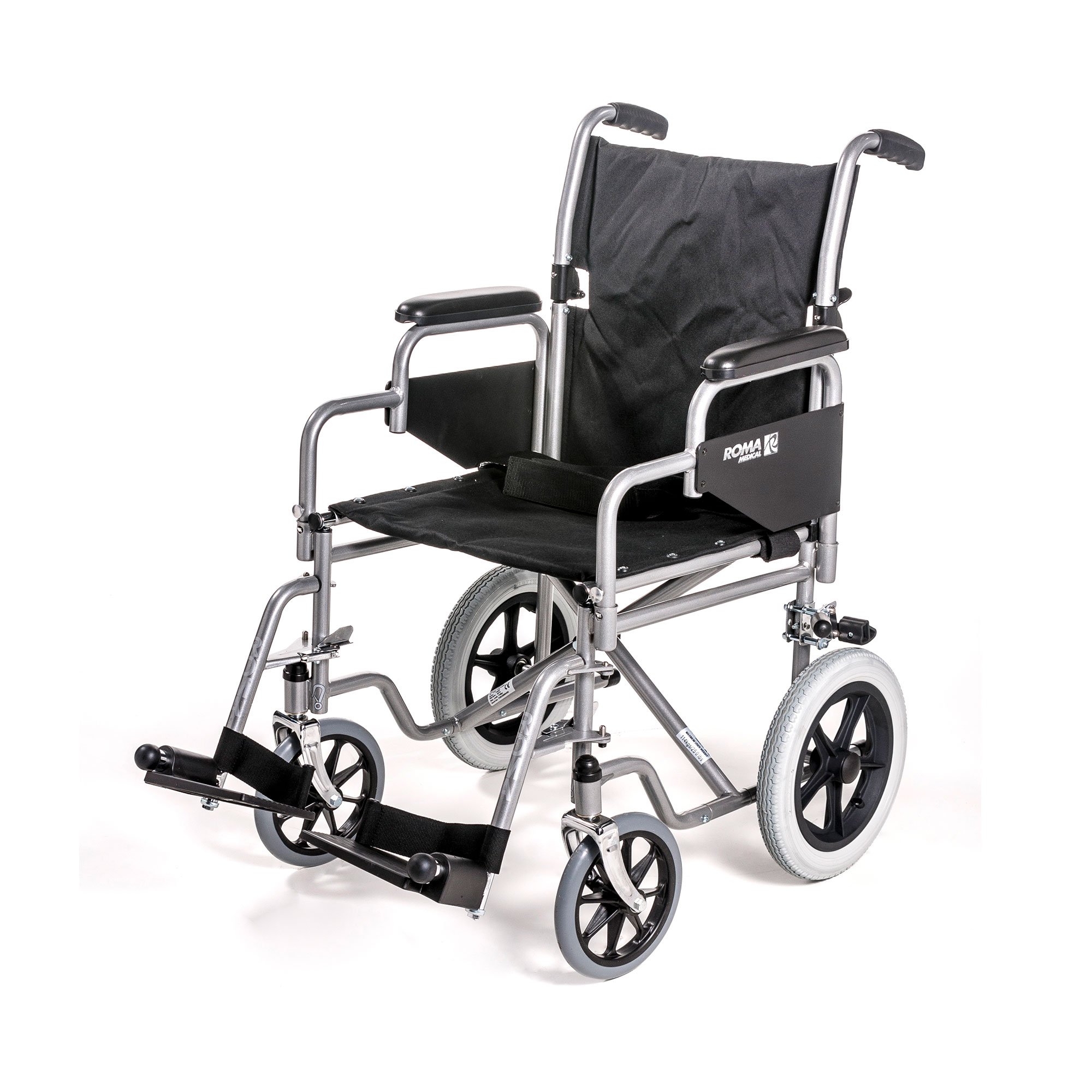 1100 : Car Transit Wheelchair With Detachable Arms