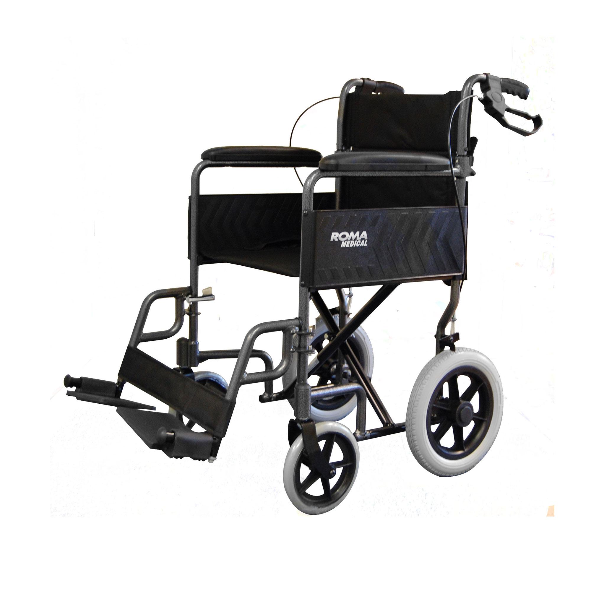 1235 Lightweight Car Transit Wheelchair Roma Medical