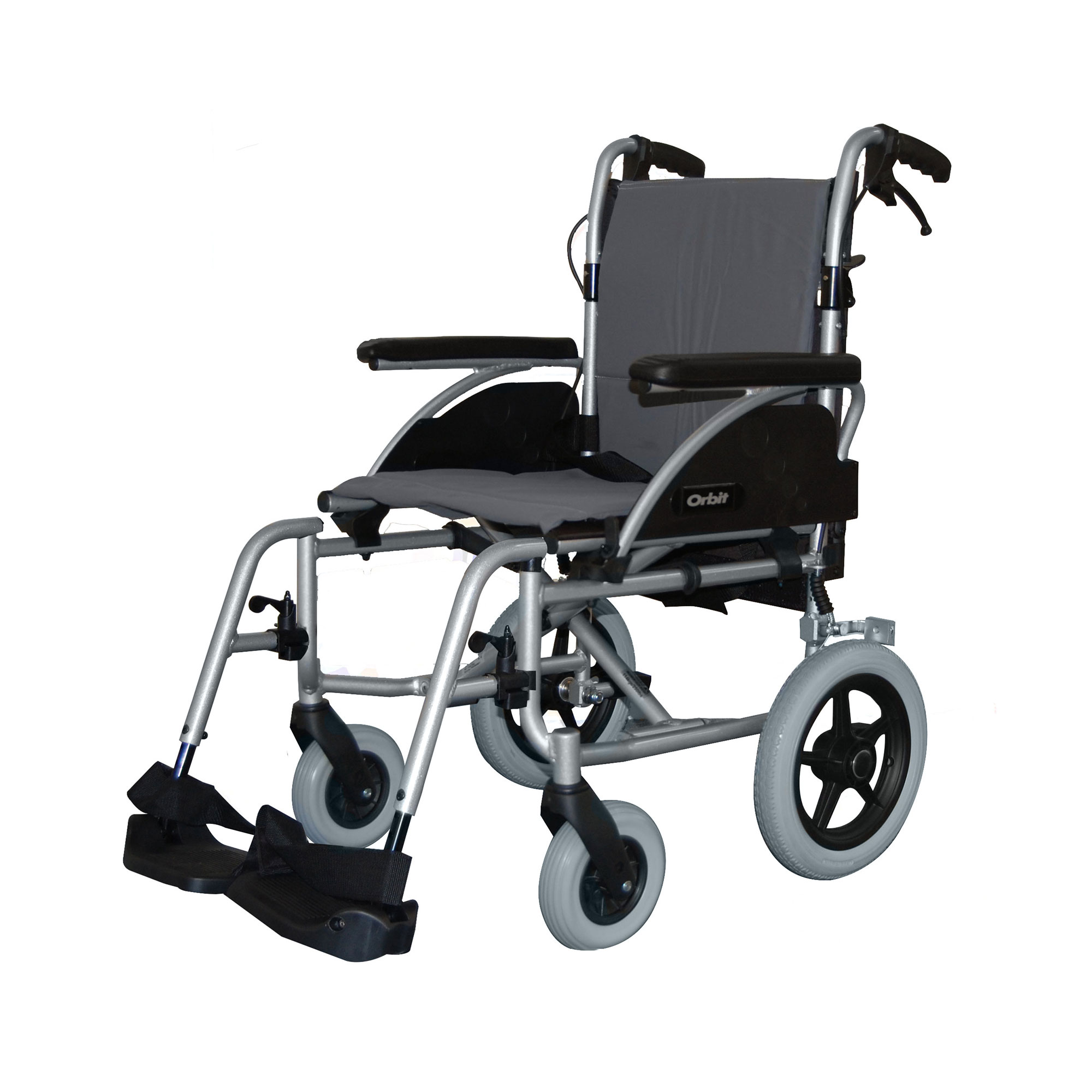 1330 Orbit Lightweight Car Transit Wheelchair Roma Medical