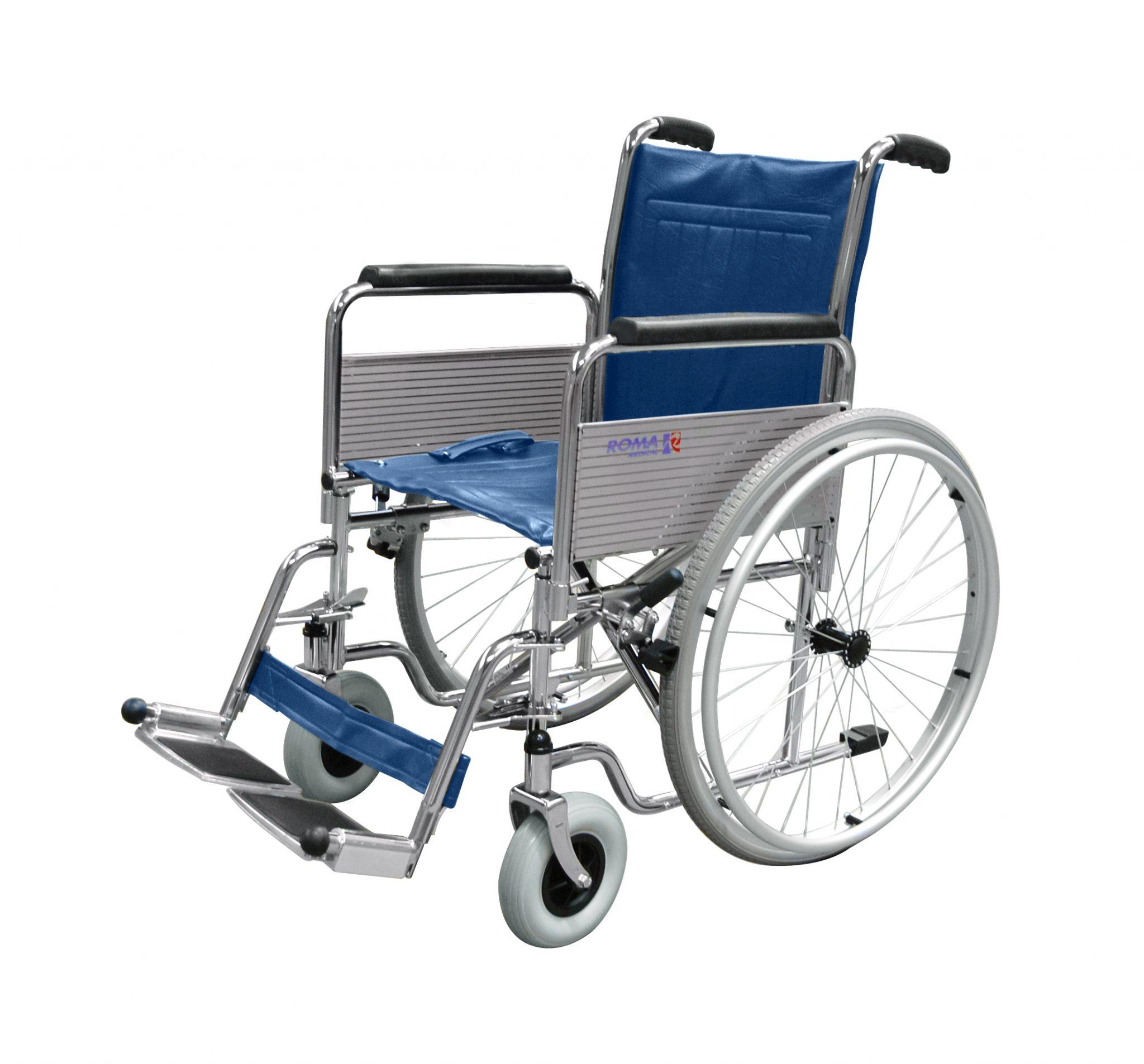 1410 Standard Self Propelled Wheelchair Roma Medical
