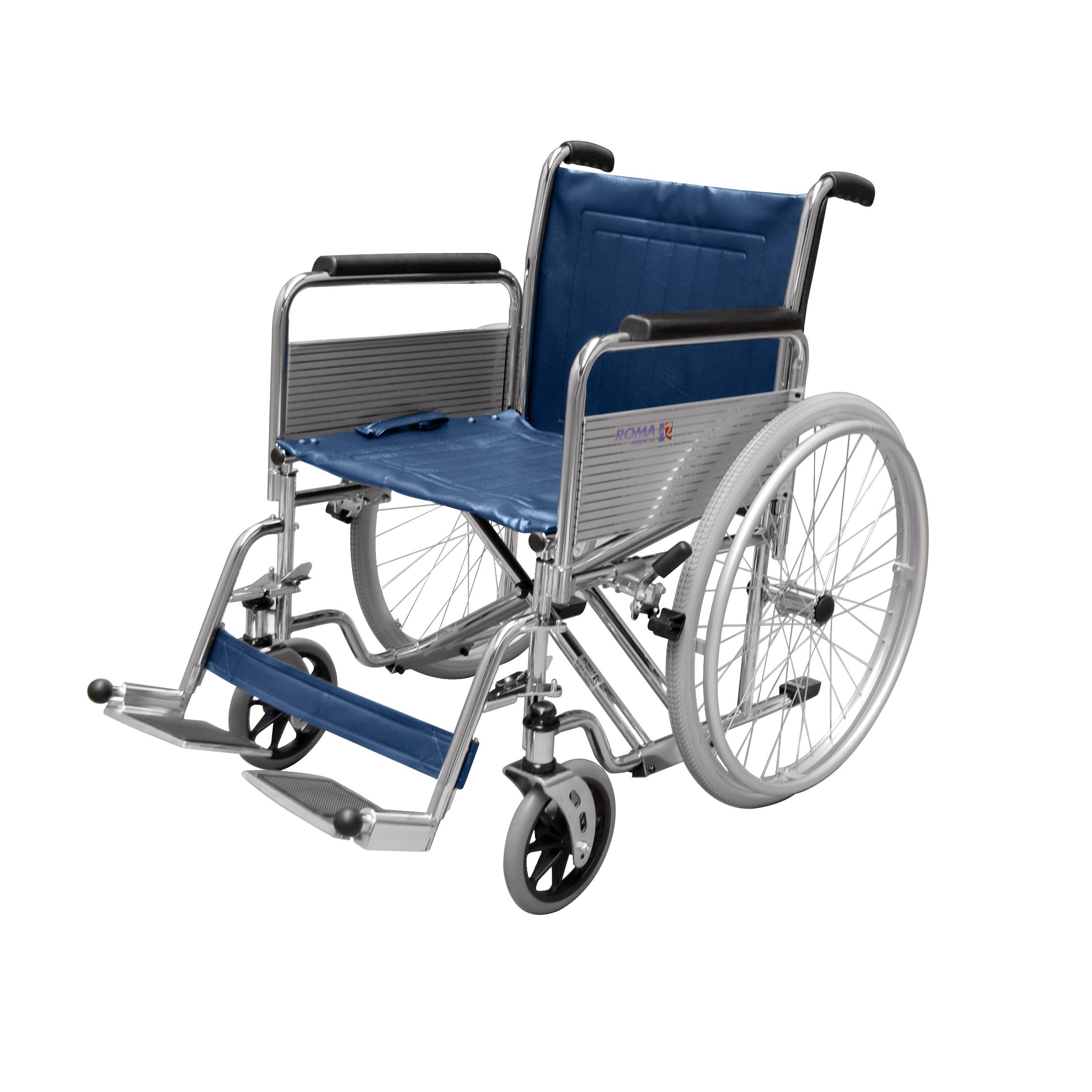 1472 Heavy Duty Self Propelled Wheelchair Roma Medical