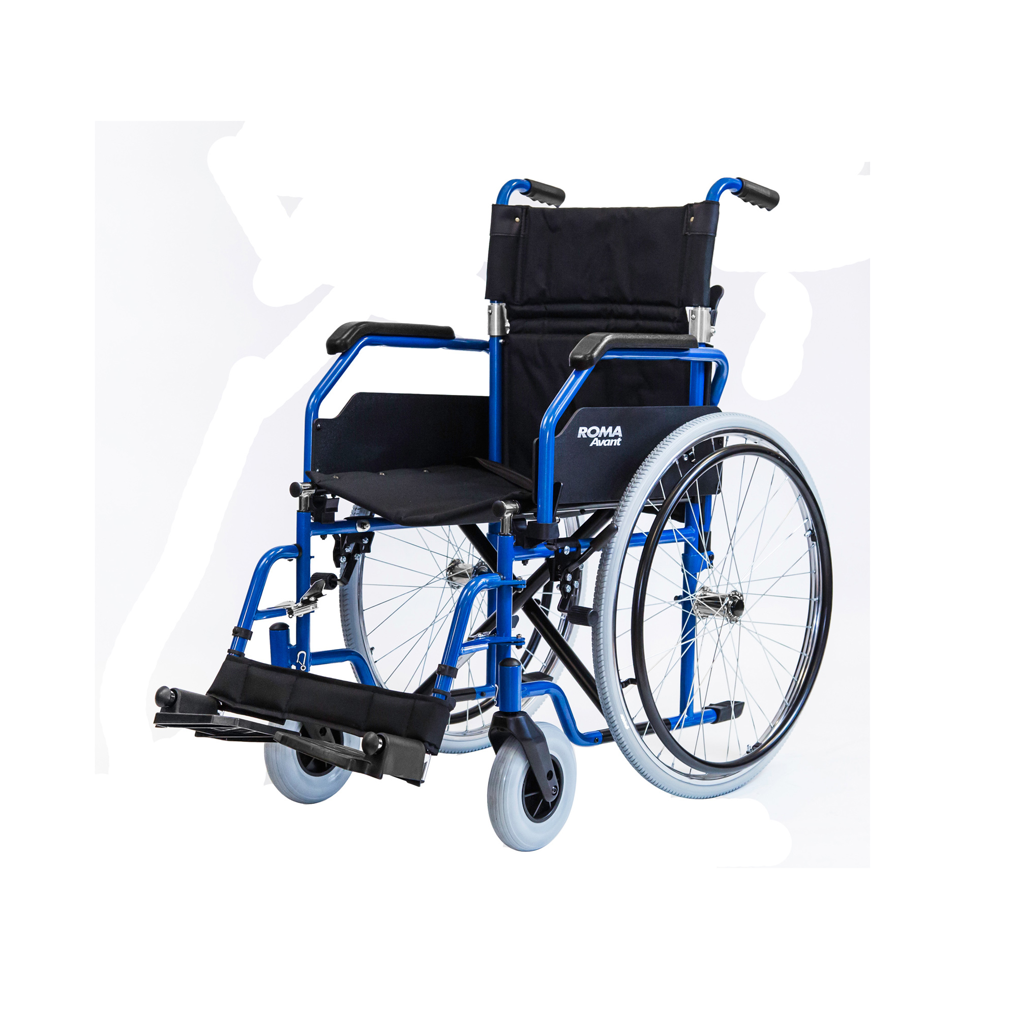 1610 Avant Steel Self Propelling Wheelchair Roma Medical
