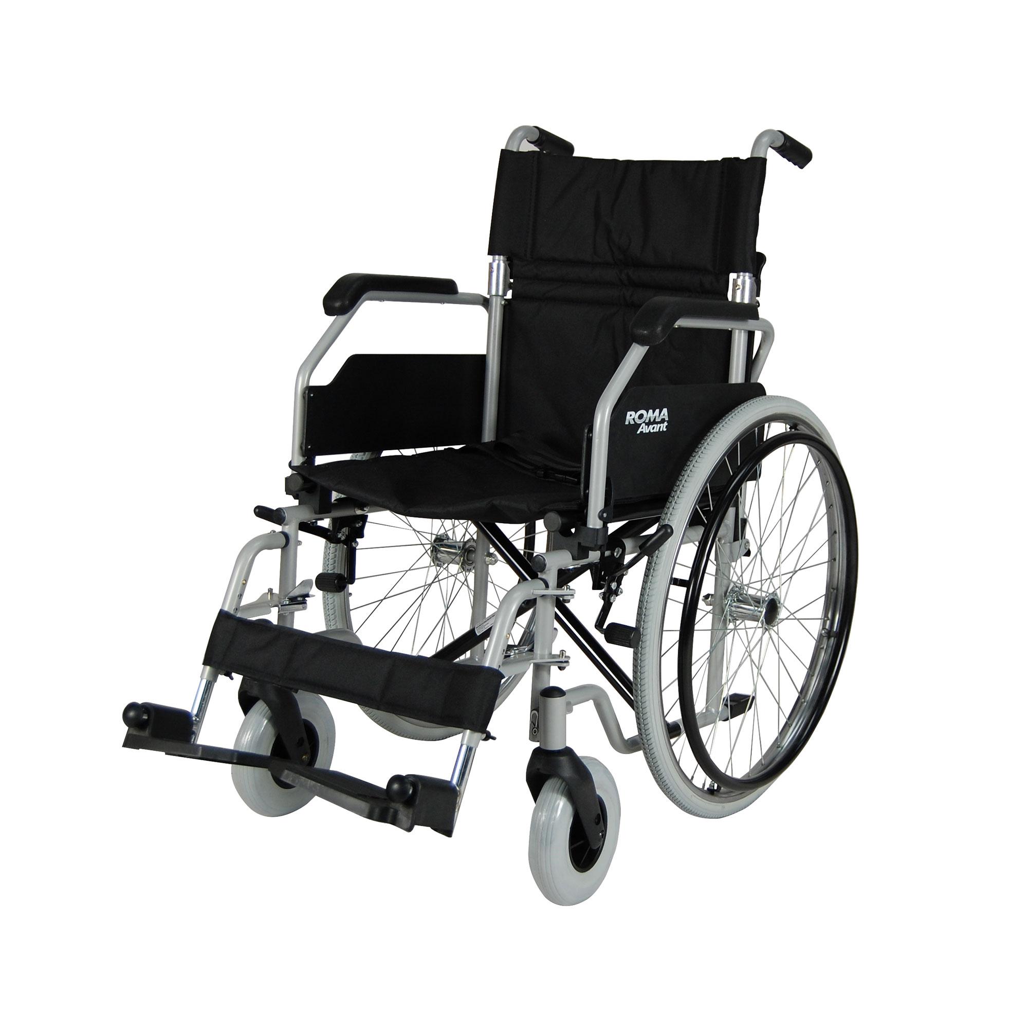 1610 Avant Steel Self Propelling Wheelchair Roma Medical