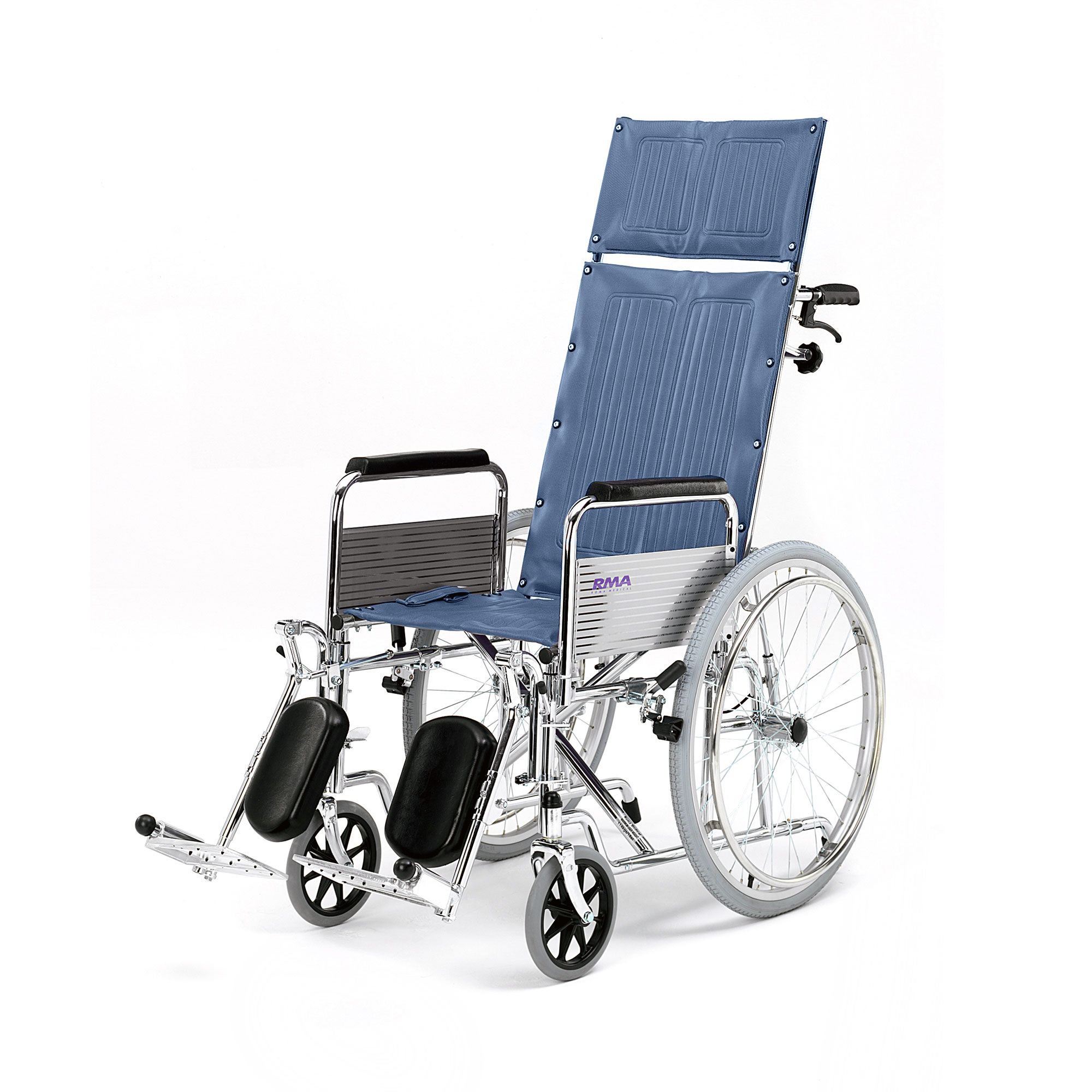 1710 Fully Reclining Wheelchair Roma Medical