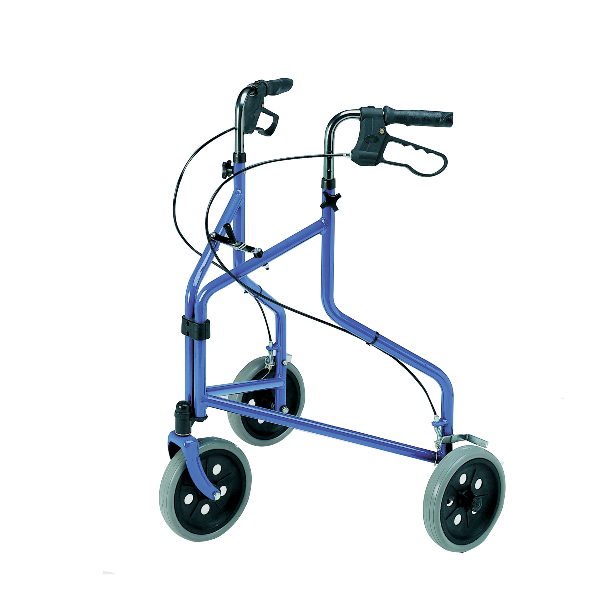 2340 Lightweight Tri Wheel Walker With Loop Brakes