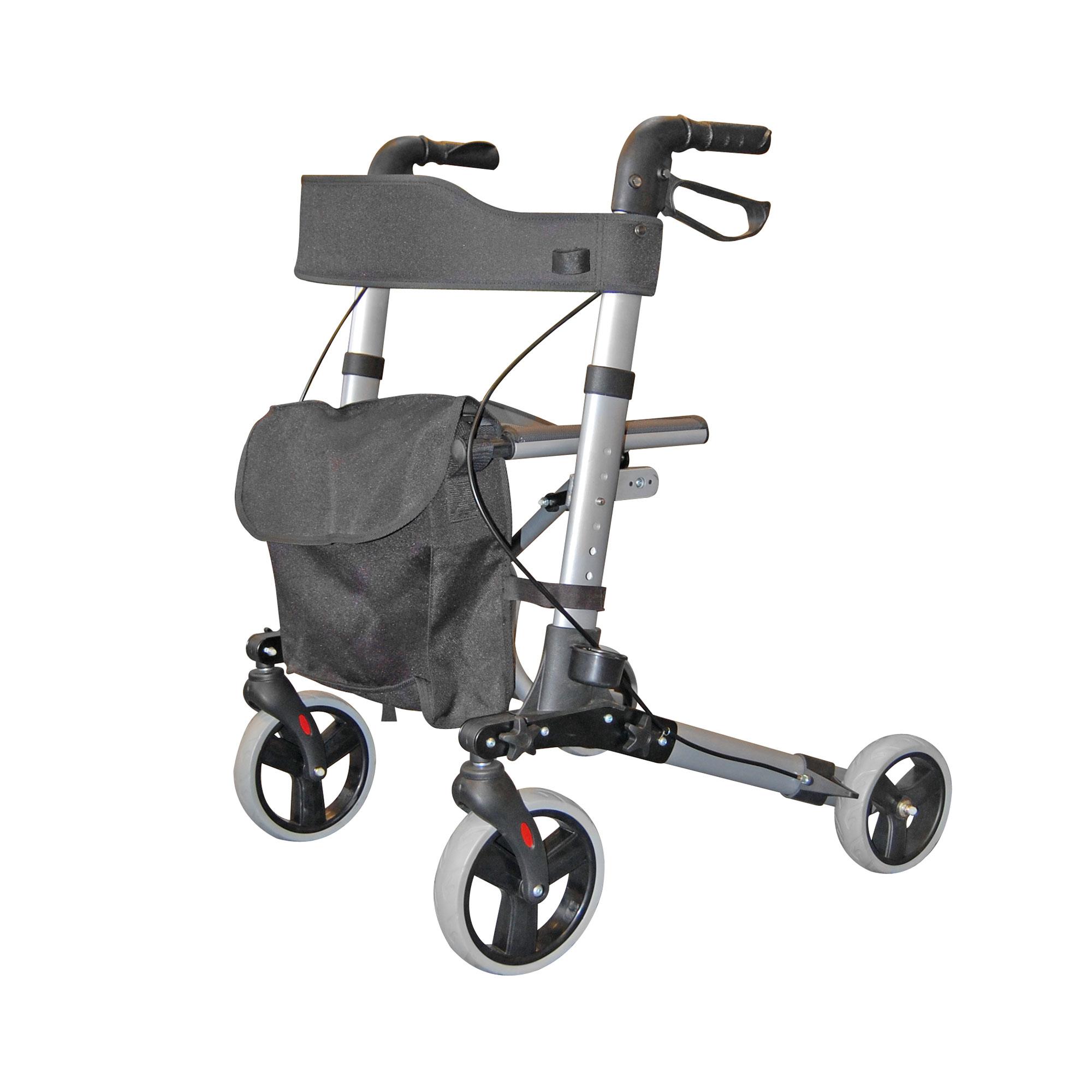 2465 City Walker Lightweight Folding Rollator Roma