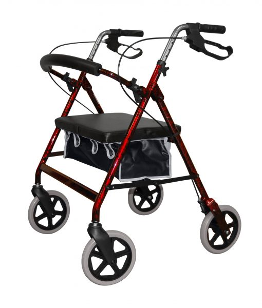 2467 Heavy Duty 4 Wheeled Walker Roma Medical
