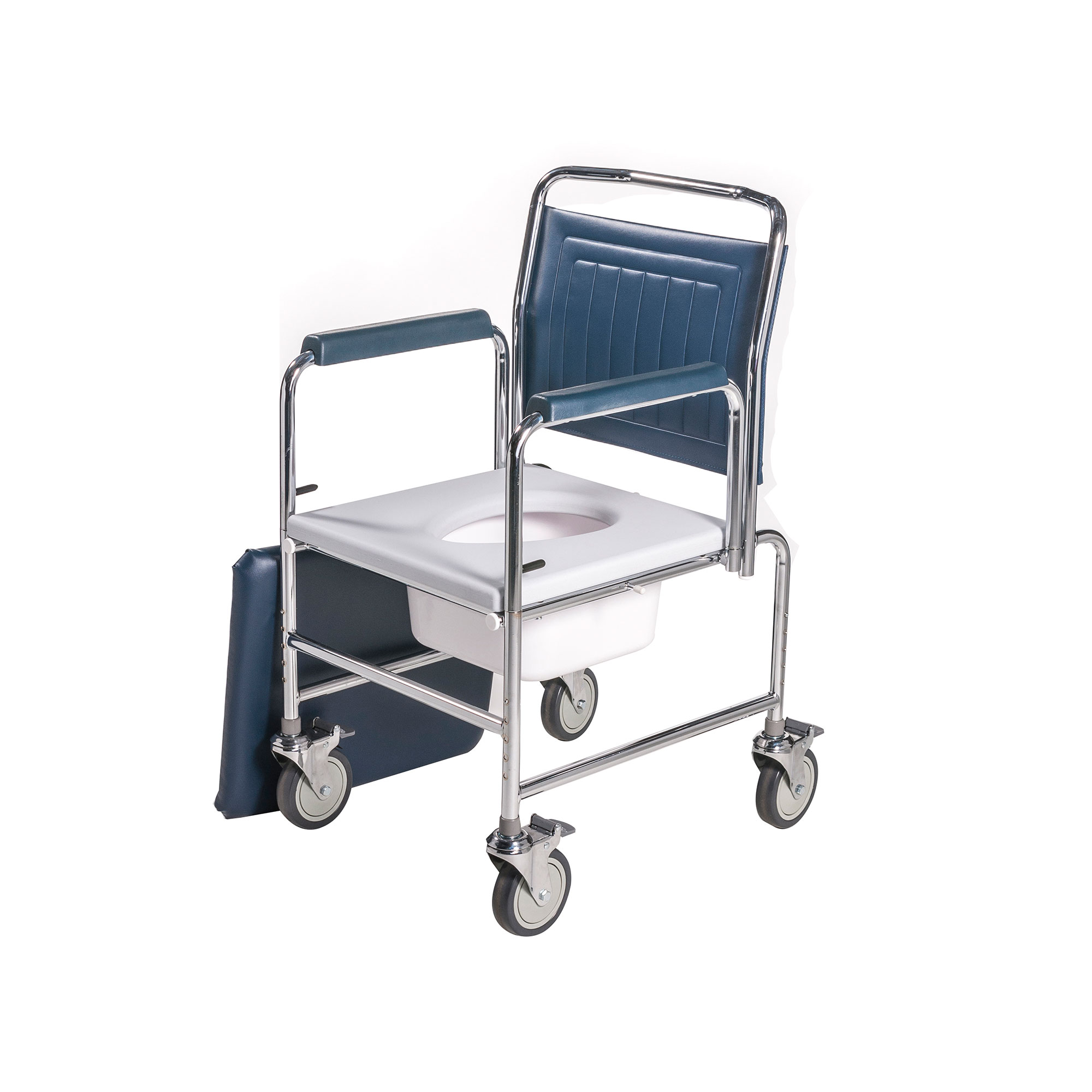 3190A/4BC : Height Adjustable Drop Arm Mobile Commode