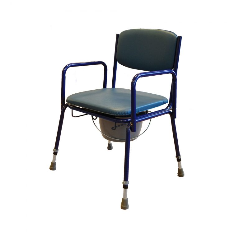 3522ad Stacking Commode With Detachable Arms Roma Medical