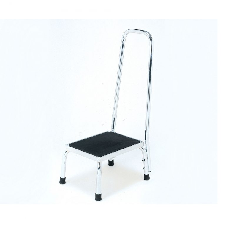 4055a Bath Step Stool With Handrail Roma Medical