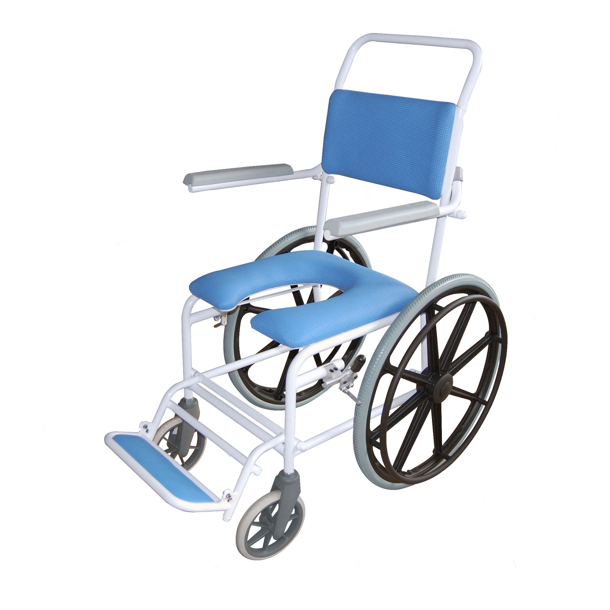 4145g Windsor Gap Self Propelled Shower Chair Roma Medical