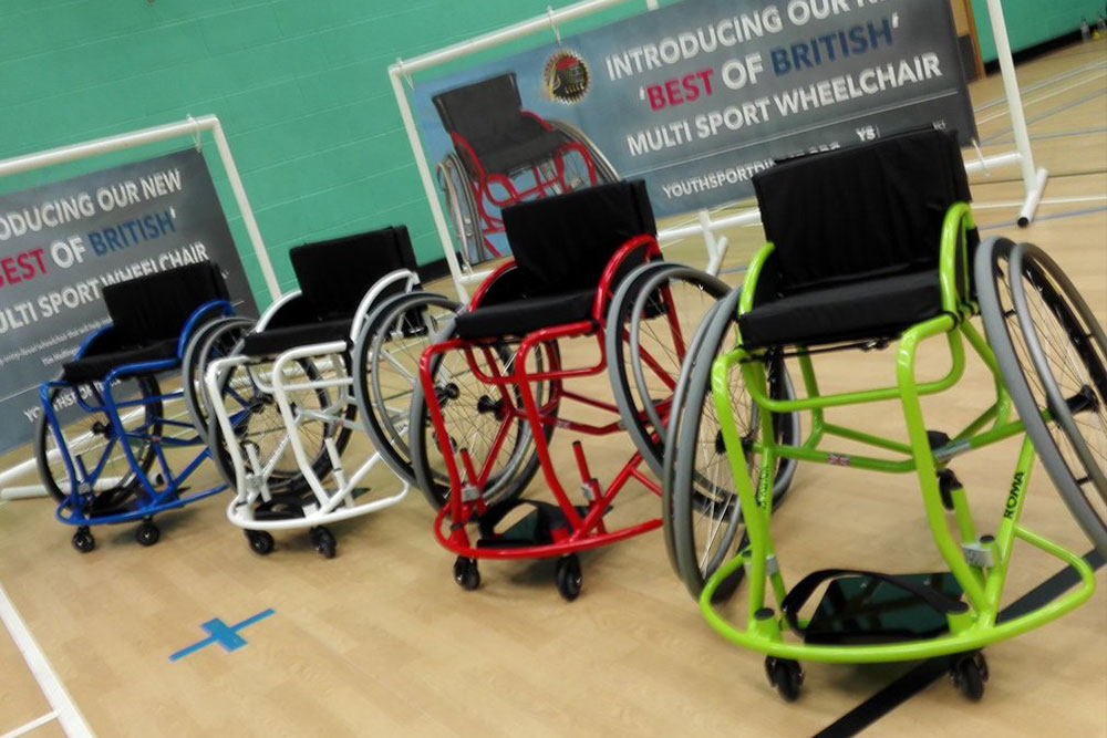 Roma Sport Multi Sport Wheelchair Launch Friday 12th