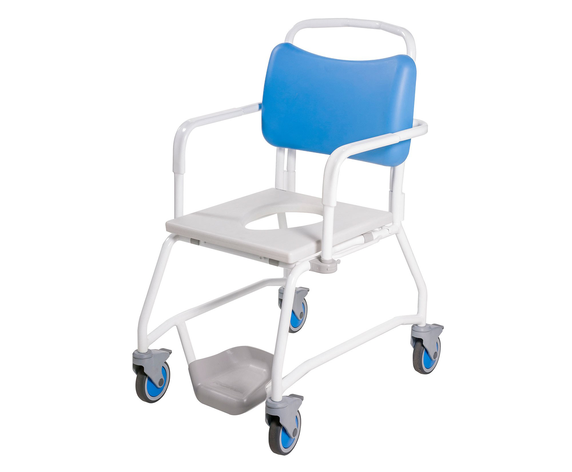 Romachair hospital chair commode shower