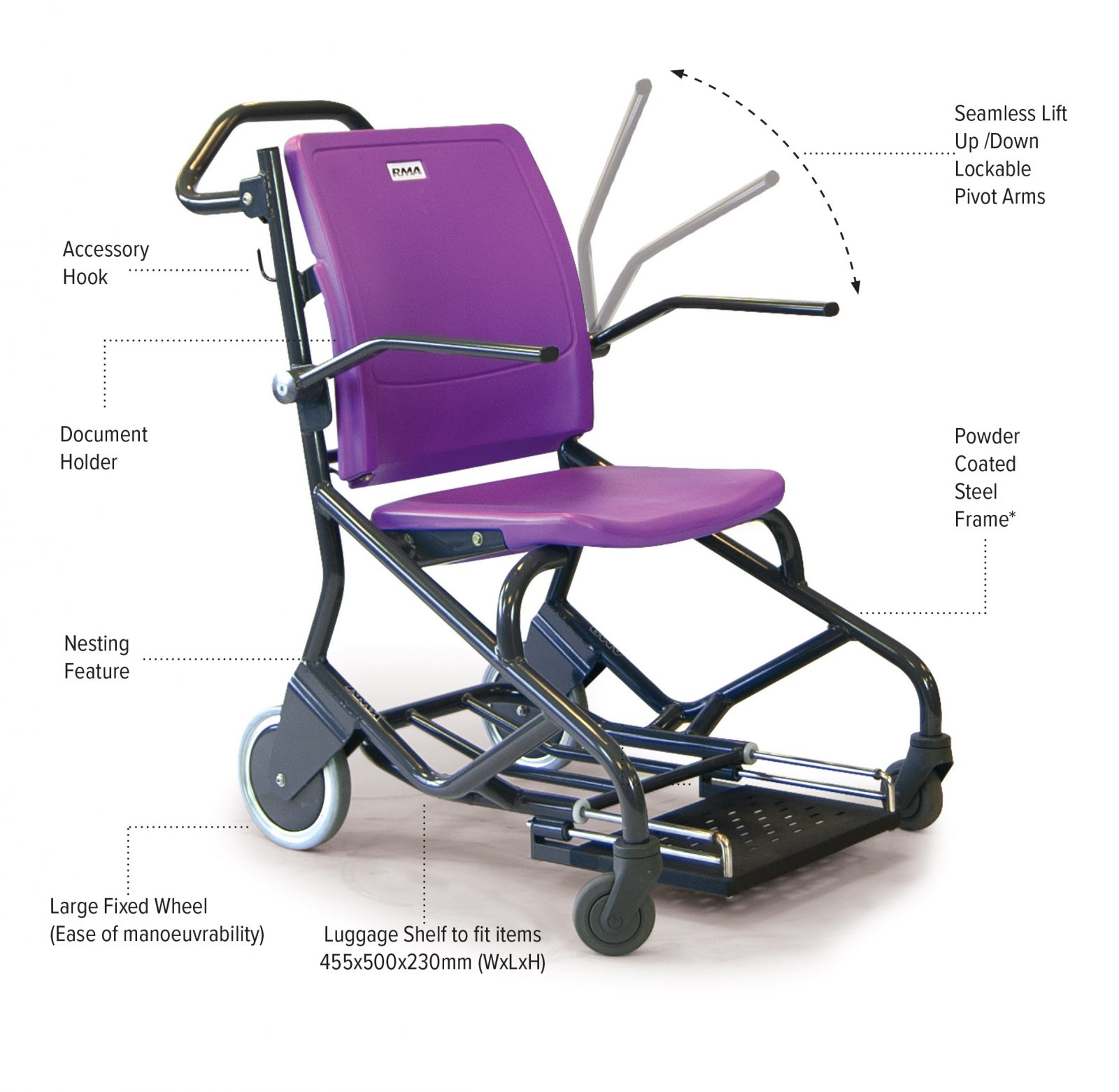 porterchair patient transfer chair